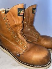 Men preowned Thorogood steel toe boot size 11ee