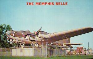 PLEASE READ ! The Memphis Belle Bomber Plane Tennessee, Standard Chrome Postcard