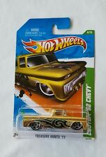 RARE~SUPER-CUSTOM '63 CHEVY PICK-UP -HOT WHEELS-2011 TREASURE HUNT Please Read