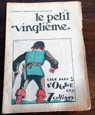 TINTIN HERGE PETIT VINGTIEME 1931 NO 34  BE