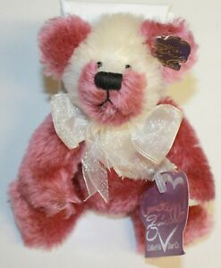Annette Funicello Collectible Jointed Mohair Cherry Pop Fizz Teddy Bear Retired