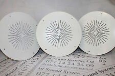 3 x 6w BF-026T high temerature ceiling speakers suitable for Voice evac systems