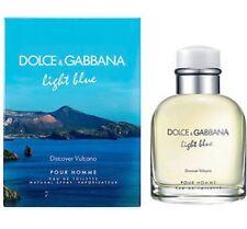 LIGHT BLUE DISCOVER VULCANO POUR HOMME BY DOLCE GABBANA 125 ml EDT SPRAY Men's P