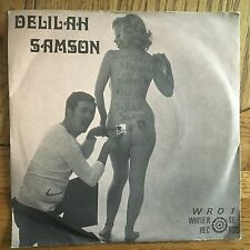 "Delilah Samson Don't Stick Stickers On My Paper Knickers UK 1978 7"" PS"