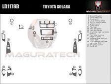 Fits Toyota Solara 2004-2006 Basic Premium Wood Dash Trim Kit