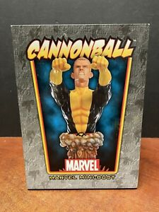 "Bowen Designs Marvel 7"" Cannonball Mini Bust EM5703"
