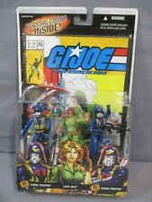 GI Joe COBRA TROOPER LADY JAYE Comic 3 Pack #44 Sealed 2006