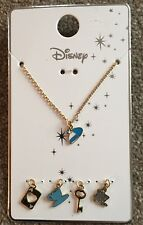 Primark Disney Alice In Wonderland Necklace Bnwt Interchangeable Charm