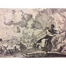 Perse tremblement de terre Jan et Casper Luyken 1698 école Hollandaise