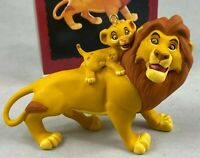 HALLMARK KEEPSAKE ORNAMENT WALT DISNEY'S THE LION KING MUFASA AND SIMBA VINTAGE
