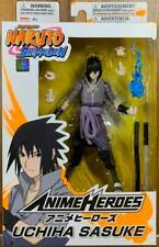 "Bandai Naruto Shippuden Anime Hero Series 6""inch Uchiha Sasuke Action Figure"