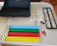 Mah Jongg Game With Carrying Case, Mah Jongg Mavin Atlanta Georgia Domino Tile