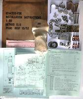 Documentation & Kit d'installation radio SCR-508 en véhicule série V36 NOS