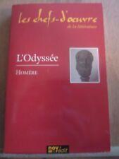 Homère: L'Odyssée/ Les Chefs-d'Oeuvre de la Littérature, Nov'Edit, 2005