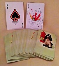 US NAVY PLAYING CARDS DOG FIRE HYDRANT BUTCH COCKER SPANIEL ALBERT STAEHLE.