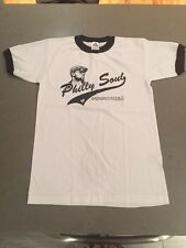 Philly Soul MusiqSoulChild White T-Shirt With Black Trim NEW