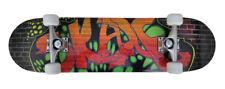 """vidaXL 90558 8"""" Oval Graffiti Skateboard"""