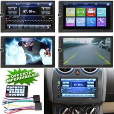 "AUTORADIO DOPPIO 2DIN 7"" BLUETOOTH STEREO TOUCHSCREEN MP4 USB MP5 SD AUX"