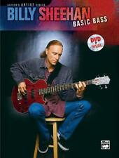 Billy Sheehan: Basic Bass Songs Tunes Learn to Play Bass Guitar MUSIC BOOK & DVD