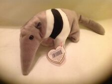 Ty Retired Ants The Anteater Beanie Baby 1998 Mwmt