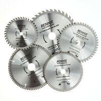 Rennie Tools TCT Circular Wood Saw Blades 135mm - 305mm Fits Dewalt Makita Bosch