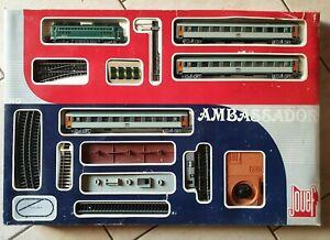 Coffret circuit train électrique Ambassador Jouef