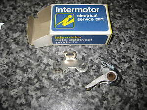 PAL IGNITION CONTACT POINTS - 02802223 / 02838454 - FITS: SKODA 1000MB (1964-70)