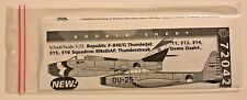 Dutch Decal 1/72 KLu Thunderjet. Thunderstreak 'Demo dash 4'. 72042