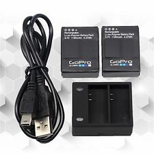 Genuine original GoPro AHDBT-302 Battery﹢charger for GoPro HERO3 HERO3+ Battery