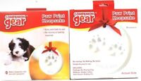 2 Companion Gear Easy & Safe No Mix Bake Or Mess Adorable Paw Print Keepsake