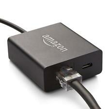 Genuine Amazon Ethernet Adapter for Fire TV & Stick Alexa Voice Remote 2017