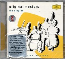DEUTSCHE GRAMMOPHON - ORIGINAL MASTERS THE SINGLES - 2 CD NEW SEALED FRICSAY