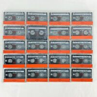 Sony HF Type 1 Audio Cassette Tapes Normal Pre Recorded Sold As Blank Lot of 20