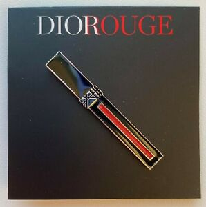 DIOR pin brooch badge ROUGE LIPSTICK RARE VIP GIFT
