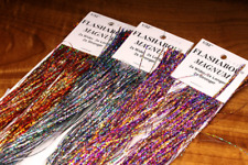 Holographic Magnum Flashabou Flash By Hedron Fly Jig & Tying Material