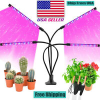 4 Heads LED Plants Grow Light Plant Growing Lamp Lights for Indoor Hydroponics