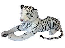 "Huge Giant Extra Large White Tiger Soft Toy Plush 160cm 63"" Realistic Features"