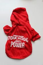 BRAND NEW Touchdog by Loyal Friend Dog Sweater Red Hoodie Size Small