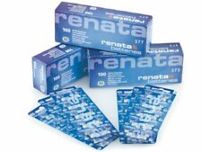 Genuine Renata  LR44 Silver Oxide Battery 1.55v (2-Pack) Expiry Date 9/2021