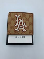 Gucci LA Angels GG Supreme Billfold Wallet Mens