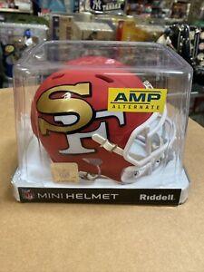 San Francisco 49ers Amp Mini Helmet