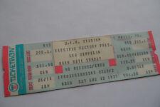 LED ZEPPELIN Original__1977__FULL CONCERT TICKET__JFK Stadium__EX