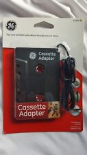 Ge Car Cassette Tape Adapter Converter for CellPhone Mp3 Mp4 iPod Touch Nano