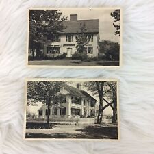 Two The American Scene Connecticut 94 96 Historic Houses Postcards