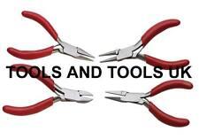 "4 PZ MISTI GANASCE PINZE Cutter Tool Set / KIT CON MOLLA gioielli filo MINI 3"""
