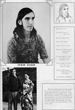1977 Yokohama Japan International School Yearbook~Photos~History~Soccer~Seniors+