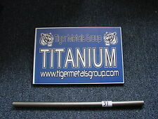 "Grade 9 Titanium Tube ( 2"" OD / 0.070'' Wall / 23.25"" Length) #436JM"