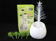 Christmas Tree Decor Light Wall Plug LED Night Light Energy Saving Light Sensor