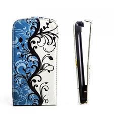 Handy Tasche Flip Case Etui Samsung S6102 Galaxy Y DuoS Schmetterling Hülle M357