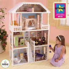 Kidkraft Savannah Dollhouse, Wooden Dollshouse, Childrens Playtime